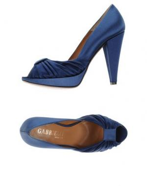 Туфли GABRIELLI. Цвет: синий