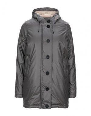 Куртка REFRIGUE. Цвет: свинцово-серый