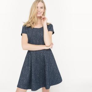 Платье с короткими рукавами Rubenita KARL MARC JOHN. Цвет: темно-синий