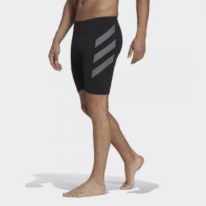 Плавки-джаммеры Pro Big 3-Stripes Performance adidas. Цвет: черный