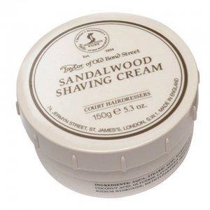 Крем для бритья с ароматом сандала Shaving Cream Sandalwood Taylor of Old Bond Street