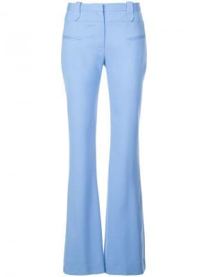 Расклешенные брюки Serge Altuzarra. Цвет: синий