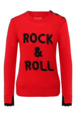 Кашемировый пуловер Zadig&Voltaire. Цвет: красный