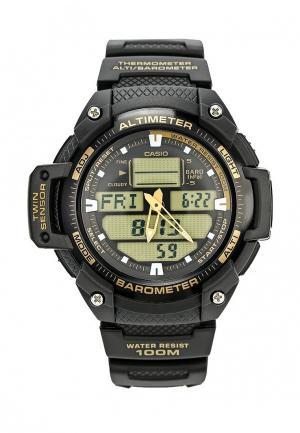 Часы Casio Collection SGW-400H-1B2. Цвет: черный