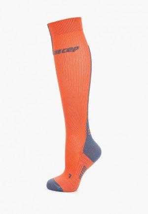 Компрессионные гольфы CEP Compression Knee Socks C123. Цвет: коралловый