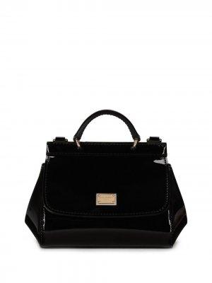 Маленькая сумка на плечо Dolce & Gabbana Kids. Цвет: черный