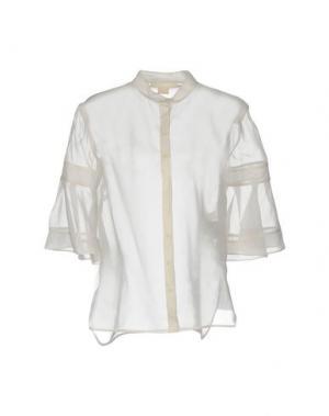 Pубашка ANTONIO BERARDI. Цвет: слоновая кость