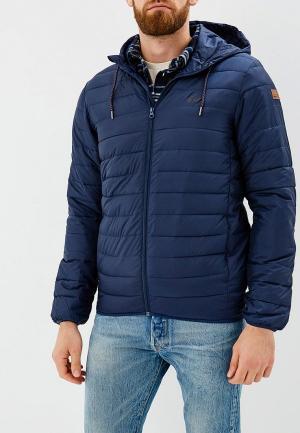 Куртка утепленная Quiksilver SCALY. Цвет: синий