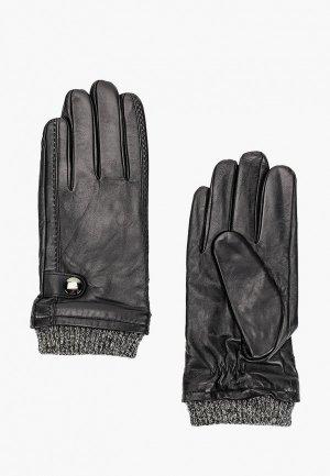 Перчатки Semplice. Цвет: черный