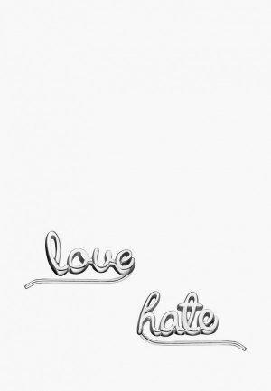 Каффы Wanna?Be! Love / hate. Цвет: серебряный