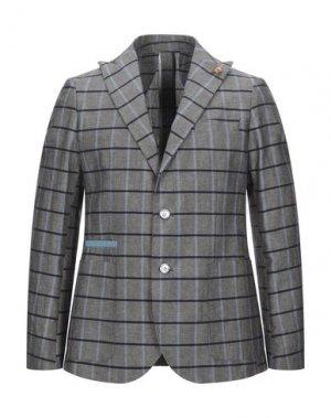 Пиджак TAKESHY KUROSAWA. Цвет: серый