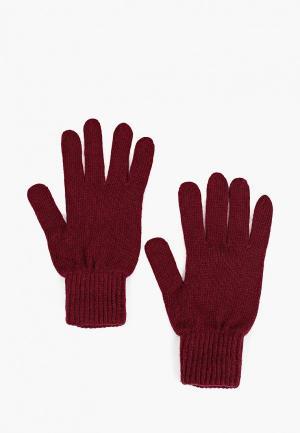 Перчатки Calvin Klein Jeans. Цвет: бордовый