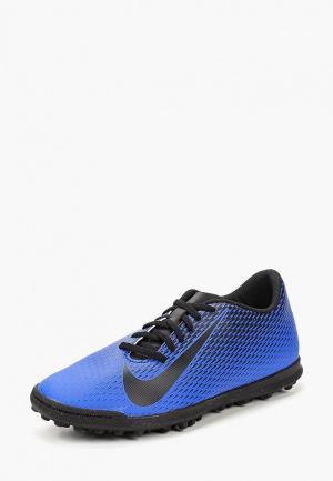 Шиповки Nike Mens BravataX II (TF) Turf Football Boot. Цвет: синий
