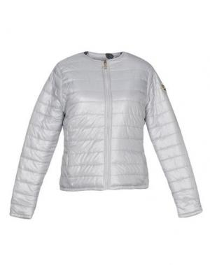 Куртка MAISON ESPIN. Цвет: светло-серый