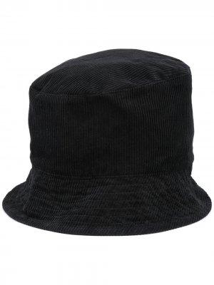 Вельветовая панама Engineered Garments. Цвет: черный