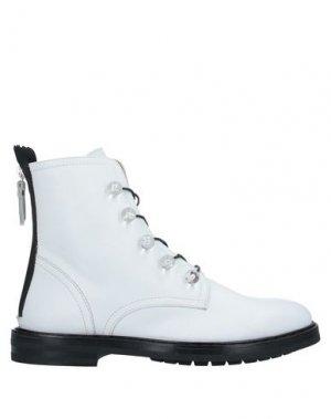 Полусапоги и высокие ботинки AGL ATTILIO GIUSTI LEOMBRUNI. Цвет: белый
