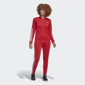 Спортивный костюм Back 2 Basics Performance adidas. Цвет: красный