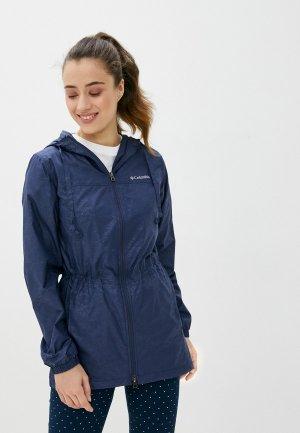 Ветровка Columbia Auroras Wake™ III Mid Jacket. Цвет: синий