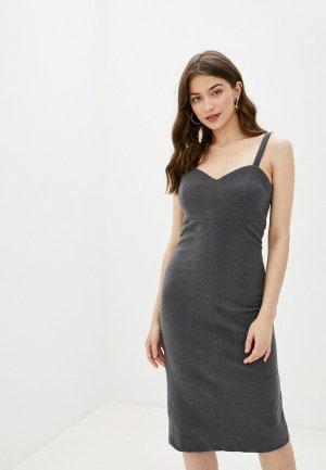 Платье Снежная Королева. Цвет: серый