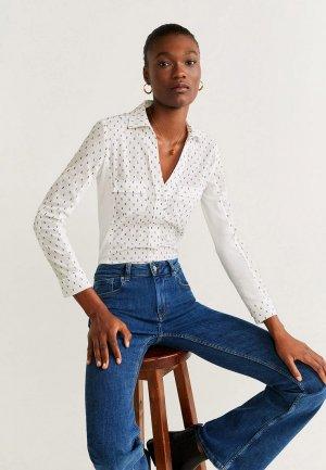 Рубашка Mango - PLANITAP-N. Цвет: белый
