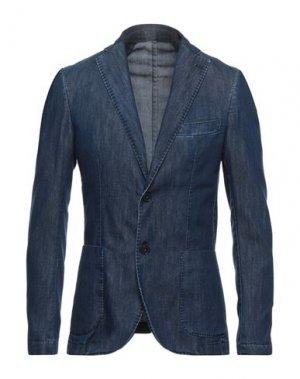 Пиджак BESILENT. Цвет: синий