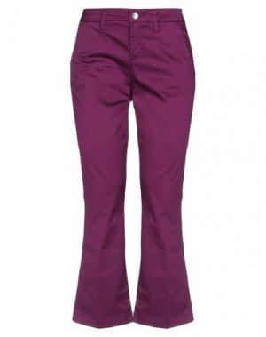 Брюки-капри LIU •JO. Цвет: фиолетовый