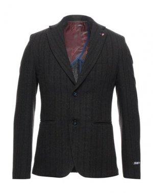 Пиджак BERNA. Цвет: темно-коричневый