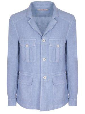 Льняной пиджак 120% LINO