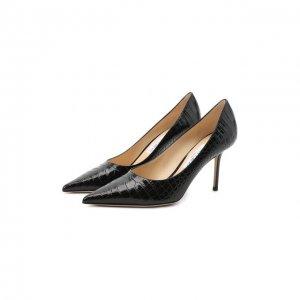 Кожаные туфли Love 85 Jimmy Choo. Цвет: чёрный