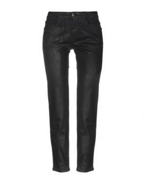 Повседневные брюки 75 FAUBOURG. Цвет: черный