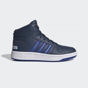 Высокие кроссовки Hoops 2.0 Performance adidas. Цвет: белый