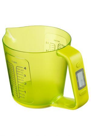 Весы кухонные электронные Федерация. Цвет: салатовый