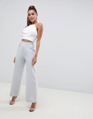 Широкие брюки с защипами ASOS DESIGN