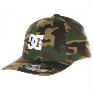 Детская бейсболка DC shoes Flexfit® Cap Star. Цвет: зеленый