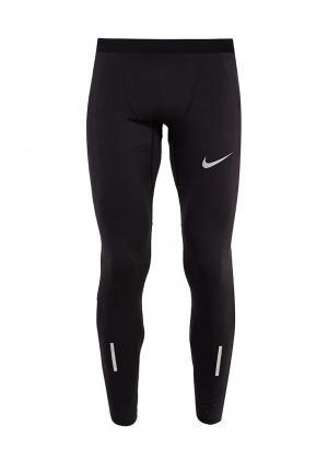 Тайтсы Nike Mens Tech Running Tights. Цвет: черный