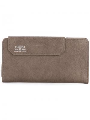 Бумажник Shrink As2ov. Цвет: коричневый