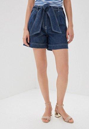 Шорты джинсовые iBlues SULTANO. Цвет: синий