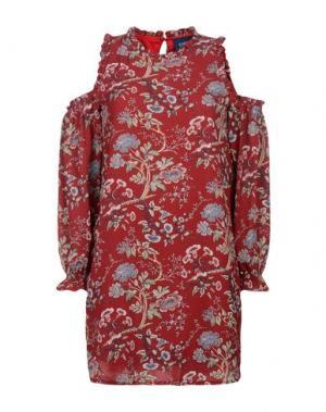 Короткое платье TANTRA. Цвет: красный