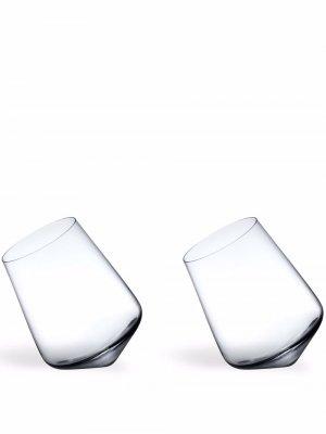 Набор Balance из двух бокалов для вина Nude. Цвет: белый