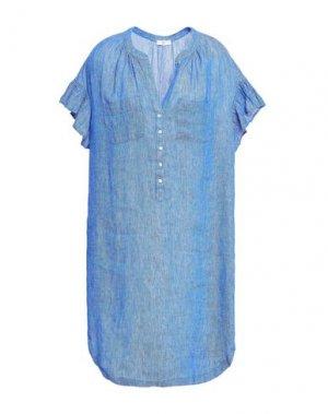Короткое платье JOIE. Цвет: синий