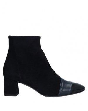 Полусапоги и высокие ботинки GUGLIELMO ROTTA. Цвет: темно-синий