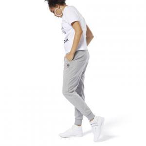 Спортивные брюки Classics French Terry Reebok. Цвет: medium grey heather