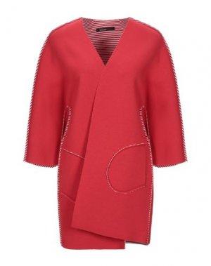 Легкое пальто PIANURASTUDIO. Цвет: красный