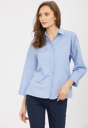 Блуза Charuel. Цвет: голубой