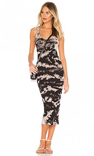 Платье-майка Enza Costa. Цвет: черный
