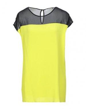 Блузка BEATRICE. Цвет: желтый