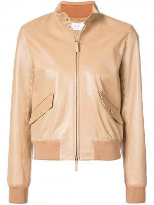 Куртка-бомбер Erhly The Row. Цвет: коричневый