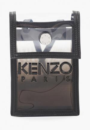Сумка Kenzo. Цвет: черный