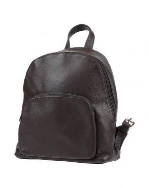 Рюкзаки и сумки на пояс LORIBLU. Цвет: темно-коричневый