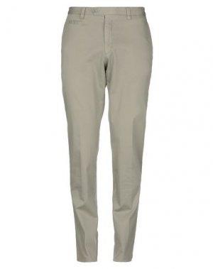 Повседневные брюки ENRICO COVERI. Цвет: зеленый-милитари
